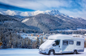 A Winter RV Camping Trip