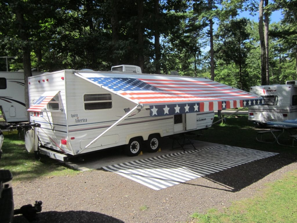 How To Clean RV Awnings