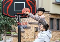 How to set up a portable basketball hoop